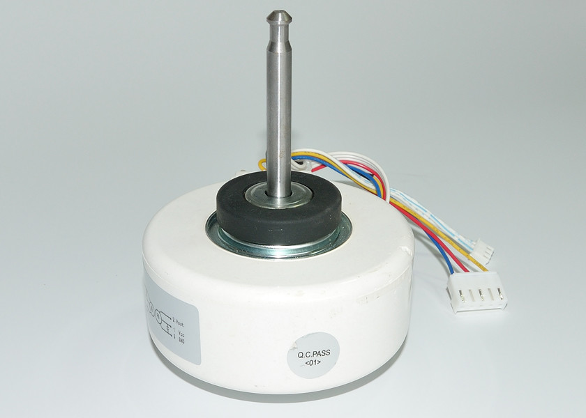 Mini Indoor Resin Packed AC Fan Motor , YDK Fan Motor 2 Pole 60 Hz