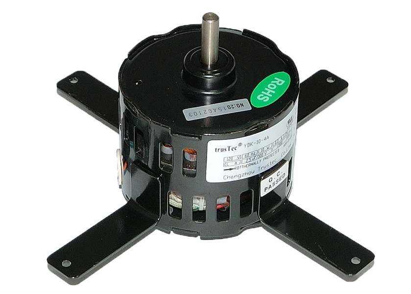 Commercial Exhaust Fans 3.3'' Mini Fan Motor 4 Pole 1550 RPM Model TDR-6-4