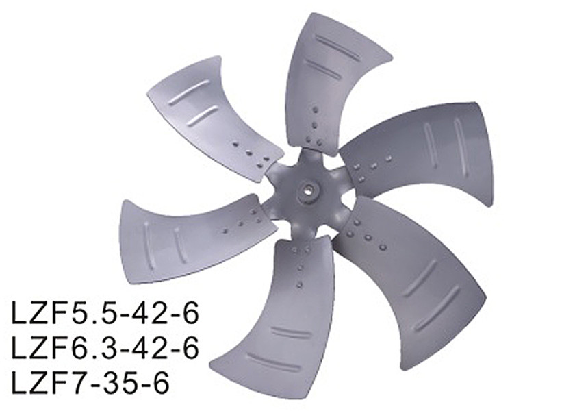 380V Industrial Air Conditioning Axial Fan Blade LZF Series 20000m³ / H Air Flow