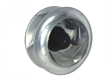 Porcellana AC 220V backward inclined centrifugal fan blades with capacitor running outer rotor motor fabbrica